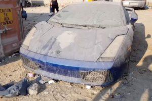 Conheça o Cemitério De Carros De Luxo Abandonados Pelos Donos 11