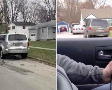 Automobilista é Denunciado Pelo Rasto Que Deixou Para Trás Após Colidir Com Veículo Estacionado 3