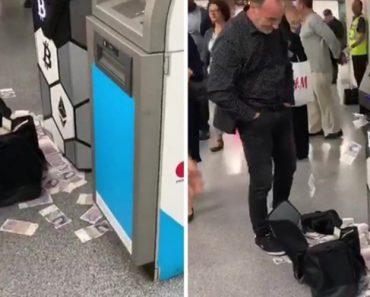 """Multibanco """"Cospe"""" Notas Numa Estação De Metro 1"""