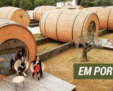 Em Portugal Já Pode Passar a Noite Numa Pipa e Beber Vinho Todo o Dia 1