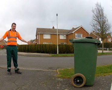 Caixote Do Lixo Ganha Vida e Percorre As Ruas Da Cidade 7