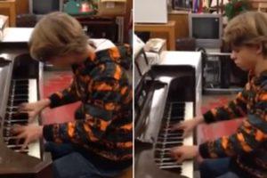 Adolescente Entra Em Loja, Senta-se Ao Piano e Surpreende Todos Com o Seu Incrível Talento 11