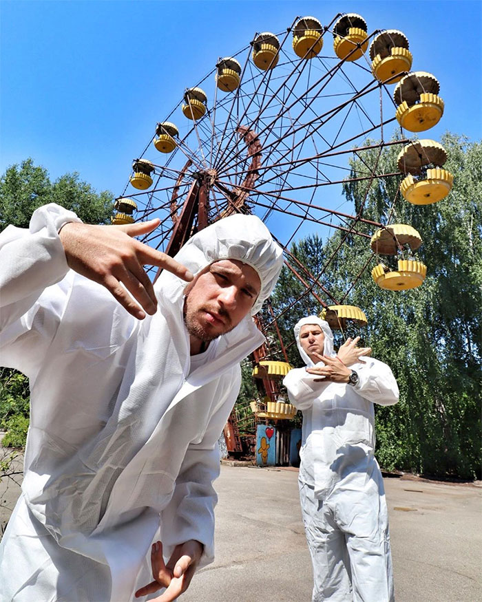 """Fotografias De """"Influencers"""" Seminus Em Chernobyl Estão a Gerar Onda De Críticas 13"""