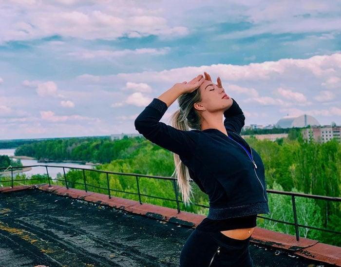 """Fotografias De """"Influencers"""" Seminus Em Chernobyl Estão a Gerar Onda De Críticas 9"""