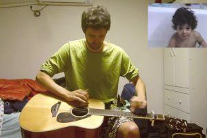 Homem Encontra Vídeo De Quando Tinha 1 Ano, 30 Anos Depois Transforma Em Incrível Música 9