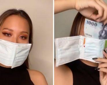 Máscara-Carteira