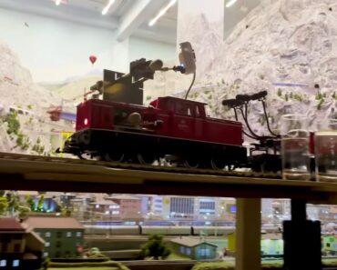Comboio Miniatura